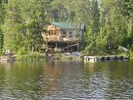 Ontario fly-in outpost fishing - Norse Lake cabin