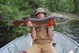 Ontario_fly-in_Pike_Fishing - Treelined Lake Outpost