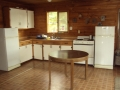 Brown Bear lake outpost kitchen