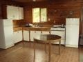 Brown Bear lake outpost kitchen